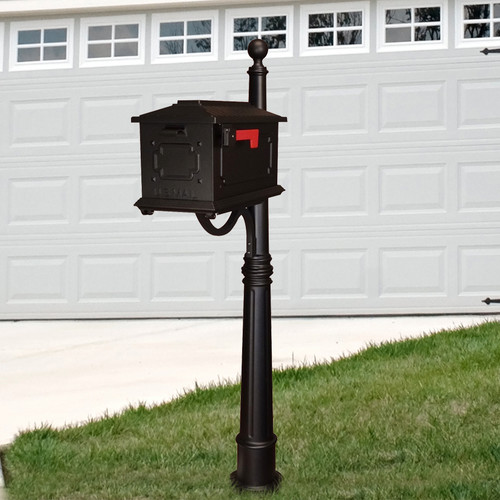 Special Lite Products Kingston Mailbox with Post Included by Mailboxes