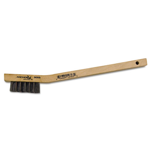 Anchor Utility Brushes stainless staplefilled utility brush (Set of 4) by Anchor