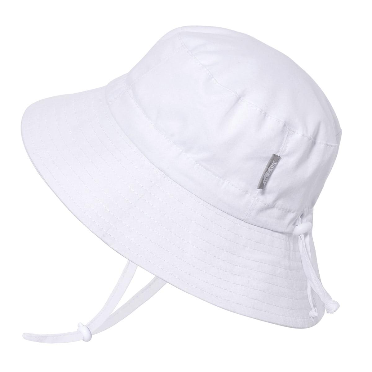 Hat for 4-12y Kids Sun Hat with Neck Flap Adjustable Children Wide Brim UPF50