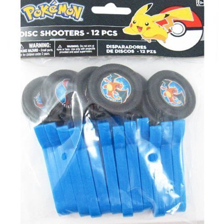 Pokemon 'Pikachu and Friends' Disc Shooters