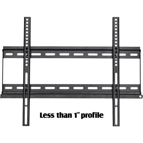 "Ready-Set-Mount Fixed Wall Mount for 23"" to 37"" Flat-Panel TVs, CC-H45B Black"