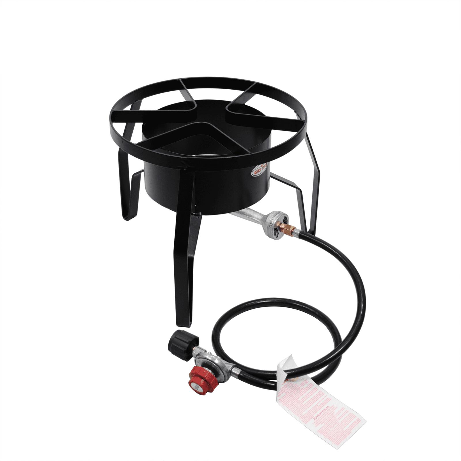 Heavy Duty Portable Propane Single High Pressure Burner O...