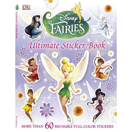 Disney Fairies Ultimate Sticker Book - Fairy Stickers