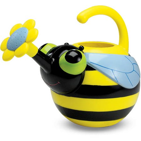 Melissa & Doug Sunny Patch Bibi Bee Watering Can - Gardening Tool for Kids