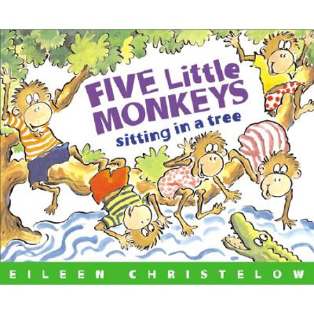 Five Little Monkeys Sitting in a Tree (Paperback) (Monkeyin Around)