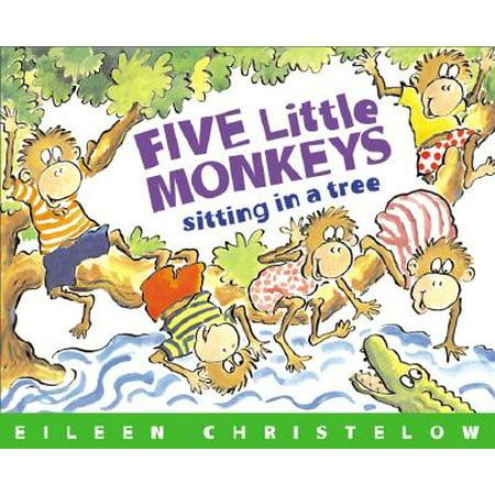 Five Little Monkeys Sitting in a Tree - Five Little Monkeys Halloween