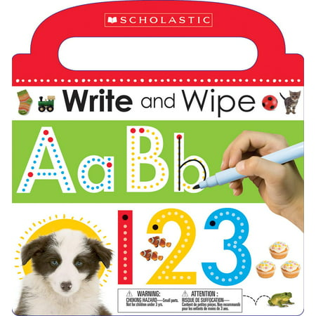 Write and Wipe ABC 123 (Board Book)