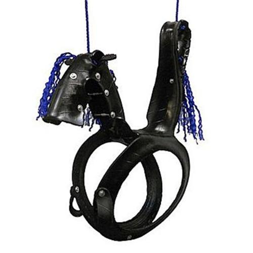 Pony Pal Tire Swing, Red/White/Blue