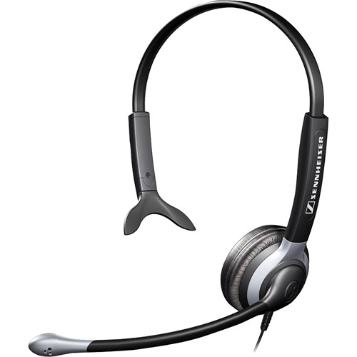 Sennheiser CC510 Over-The-Head Monaural Premium Communications Headset with Ultra Noise-Canceling Microphone