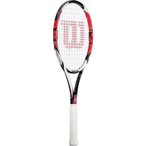 Wilson [K] Six.One 95 Strung Performance Racket, Large