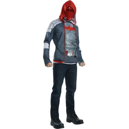 Adult's Mens Batman Red Hood Costume - Mens Mafia Costume