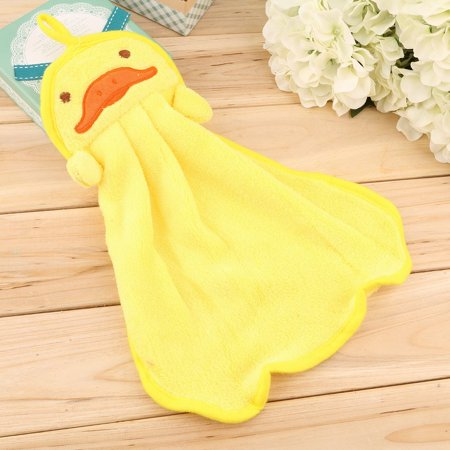 Easy-life Nursery Soft Plush Fabric Cartoon Animal Hanging Towel Washcloth Hand Towel - image 3 of 6
