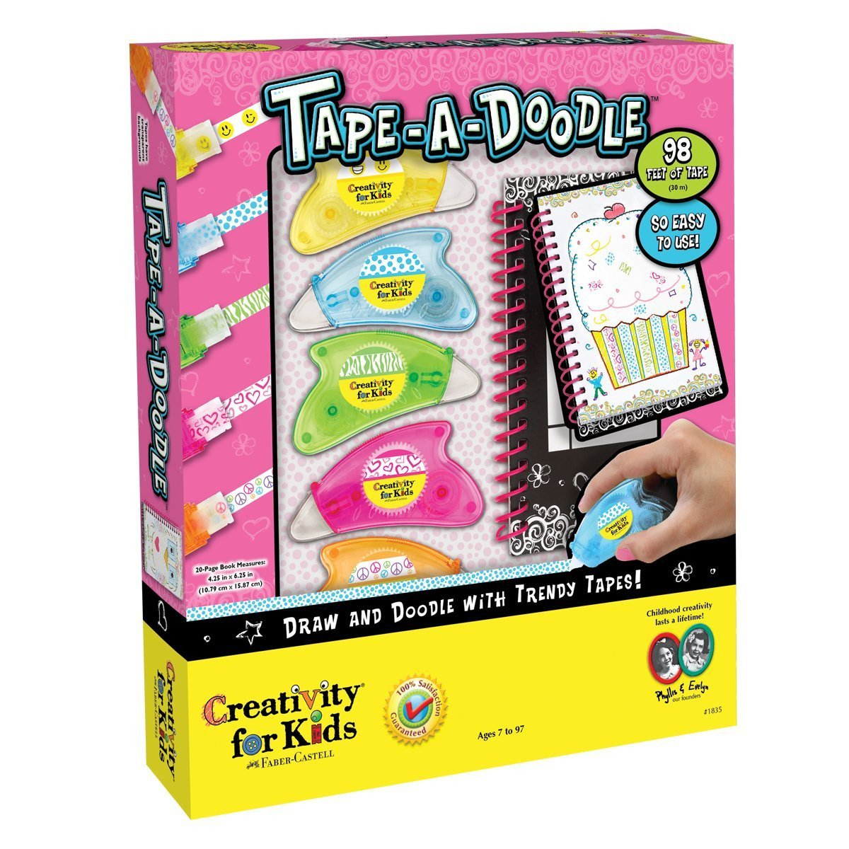 Creativity for Kids - 1835007 | Tape-A-Doodle Craft Kit - image 1 de 1