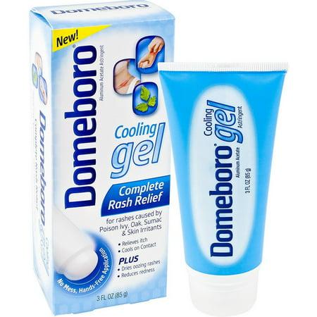 3 Pack - Domeboro Cooling Gel Complete Skin Rash Relief 3 oz