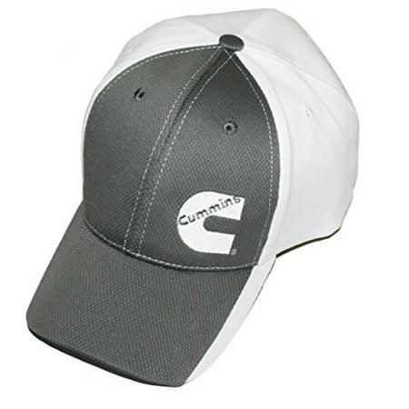 80bca55e8 Cummins Diesel Gray & White Hat