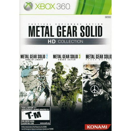 Konami Metal Gear Solid HD Collection (Xbox 360) (Metal Gear Solid 2 Raiden)
