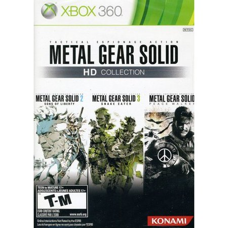 Konami Metal Gear Solid 2 Sons Of Liberty (Konami Metal Gear Solid HD Collection (Xbox)
