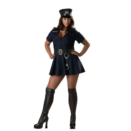 Officer Naughty Adult Costume - Officer Naughty Costume