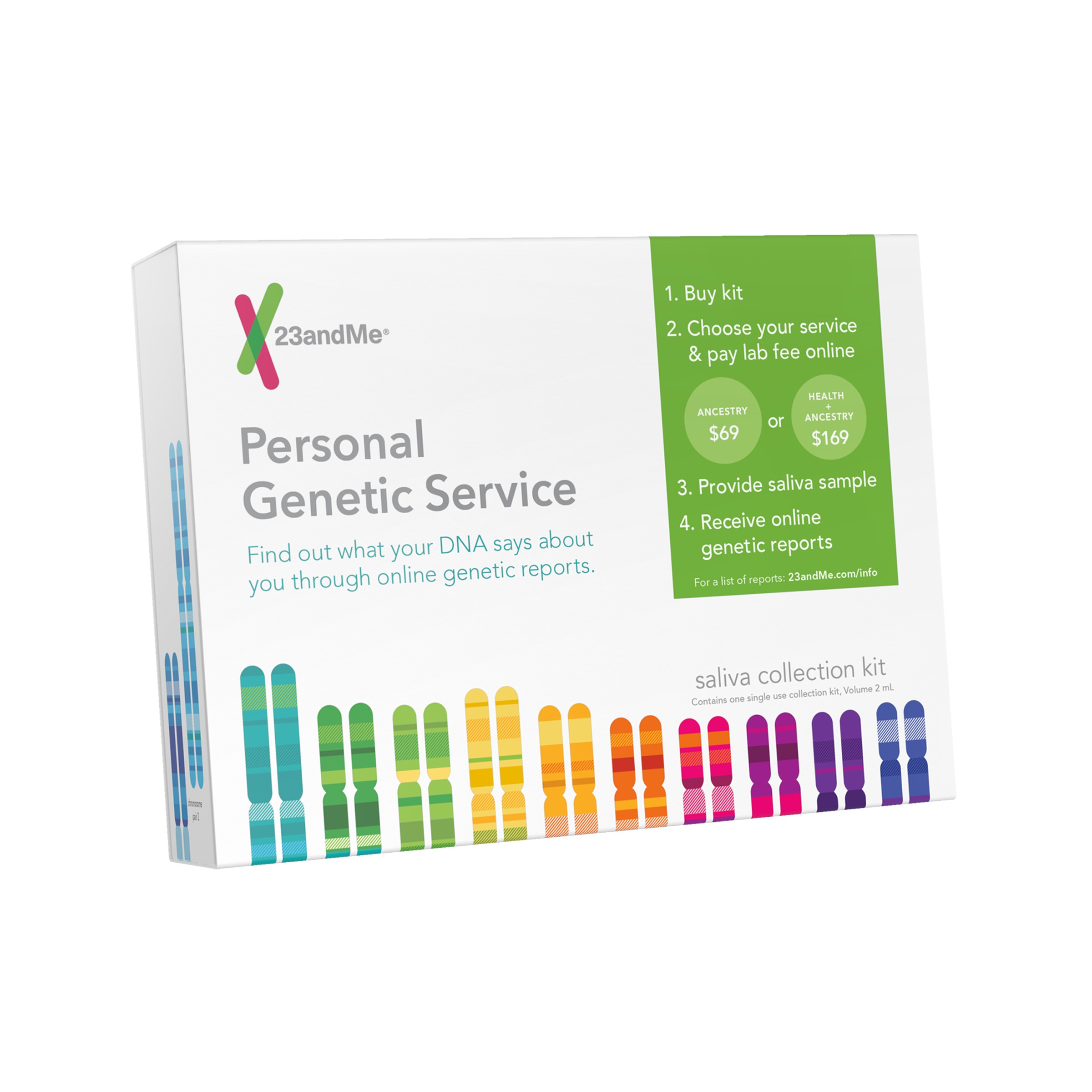 Image of 23andMe Personal Genetic Service