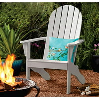 Deals on Mainstays Wood Outdoor Adirondack Chair