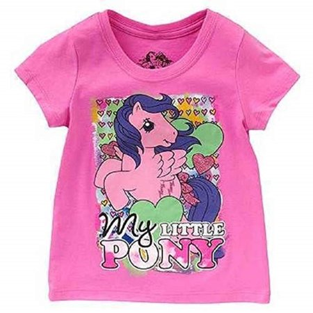 My Little Pony Shirt (My Little Pony Little Girls' Retro Character Tee)