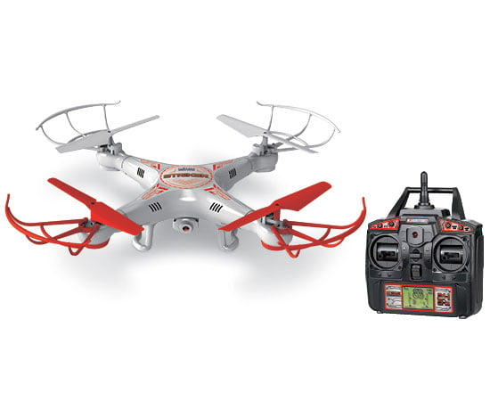 Striker 2.4GHz 4.5CH RC Spy Drone by World Tech Toys