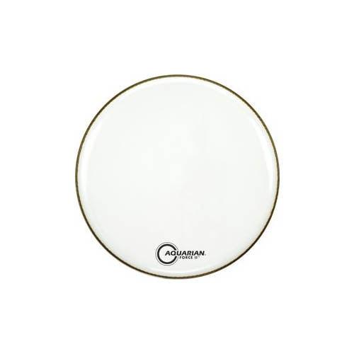 22��� White Force II Bass Drum Resonant Head