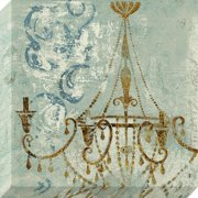 Pinncale 24x24 Chandelier Canvas Art