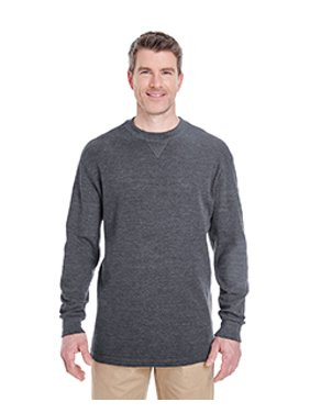ef6f92788aa Product Image UltraClub Adult Mini Thermal Crewneck