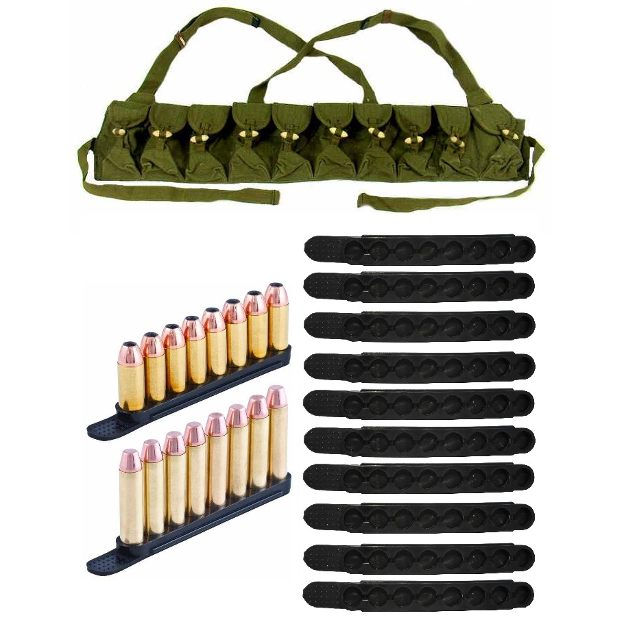 Ultimate Arms Gear .223   .32   .327   9mm Luger Parabellum Pack of 10 Polymer QuickStrips 8 Round Quick Speed Easy... by
