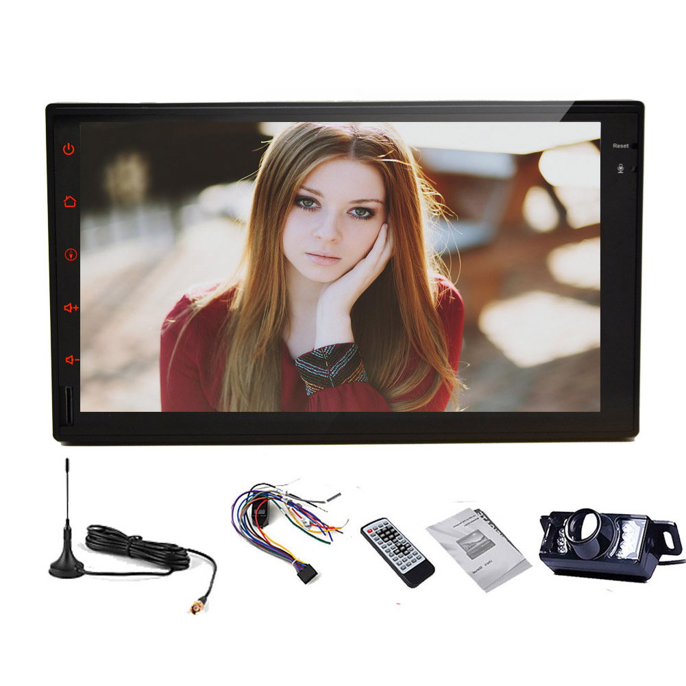 """HD 7"""" Lollipop Android 5.1 Car Radio Double Din Stereo in..."""