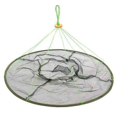 Foldable Large Prawn Bait Crab Shrimp Net Drop Landing Fishing Net Pier Harbour Pond (Drop Net)