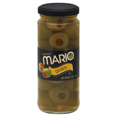 Mario® Fancy Packed Pimiento Stuffed Spanish Queen Olives 7 oz. Jar