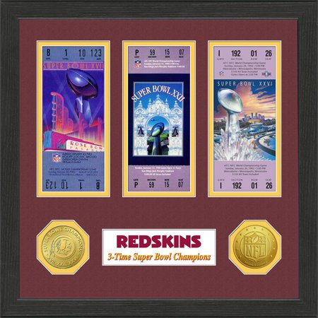 Washington Redskins Sb Championship Ticket Collection