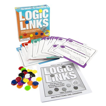 Logic Links Puzzle Box, TOYS THAT TEACH: Logic Links Puzzle Box from MindWare is a great way to enhance spatial learning and deductive reasoning skills while having fun! By MindWare (Mindware Toys)