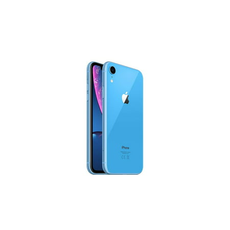 Refurbished Apple iPhone XR 256GB Great A- Blue (AT&T