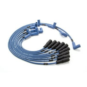 Moroso Blue Max Spark Plug Wire Set Spiral Core 8 mm Blue GM LT-Series P/N 72526