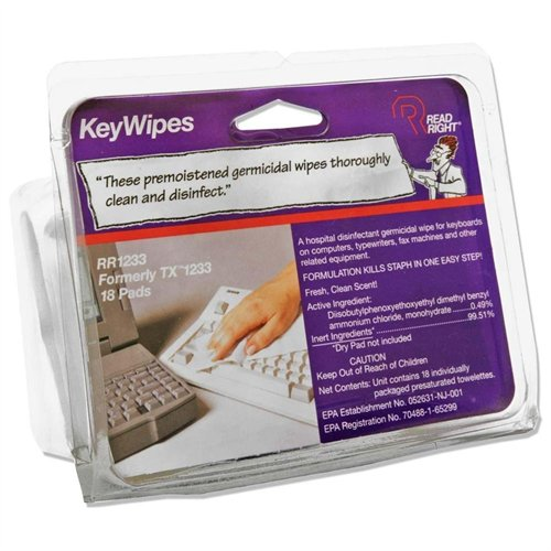 Advantus Read Right Keywipe - Keyboard (RR1233)