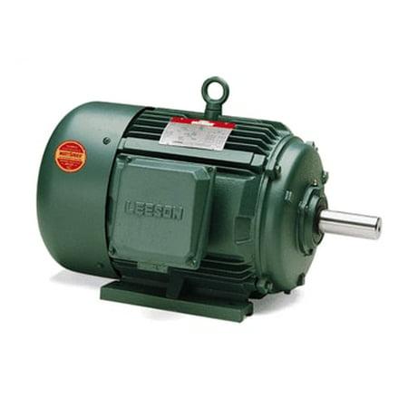 100 hp 3570 RPM 405TS Frame 208-230/460V TEFC Leeson Electric Motor # 170160