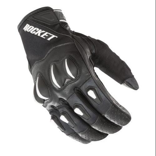 Joe Rocket Cyntek Mens Leather Glove Matte Black 3XL