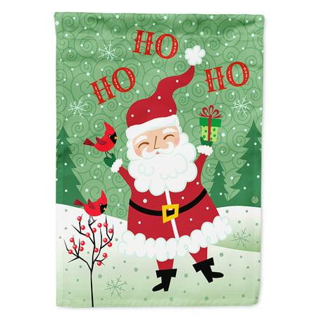 Merry Christmas Santa Claus Ho Ho Ho Garden Flag for $<!---->
