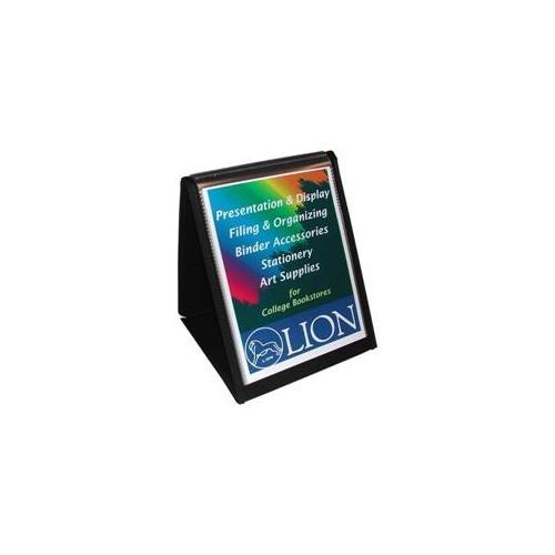 Lion Office Products Lion Office Products Flip-N-Tell Vertical Easel, 11 inchx8-. 5 inch, Black