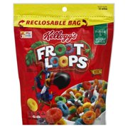 Kelloggs Froot Loops  Cereal, 3.1 oz