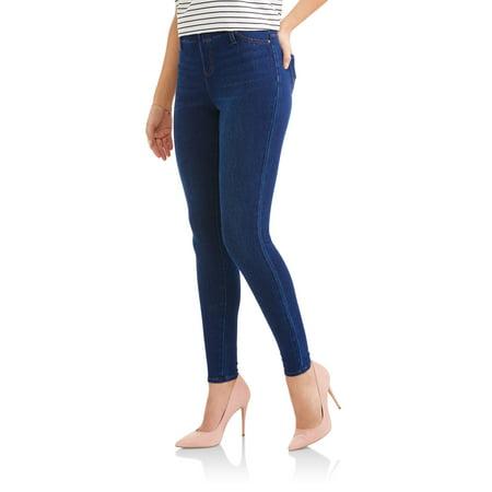 27f7395bd45ee Time and Tru - Women's Full Length Soft Knit Color Jegging - Walmart.com