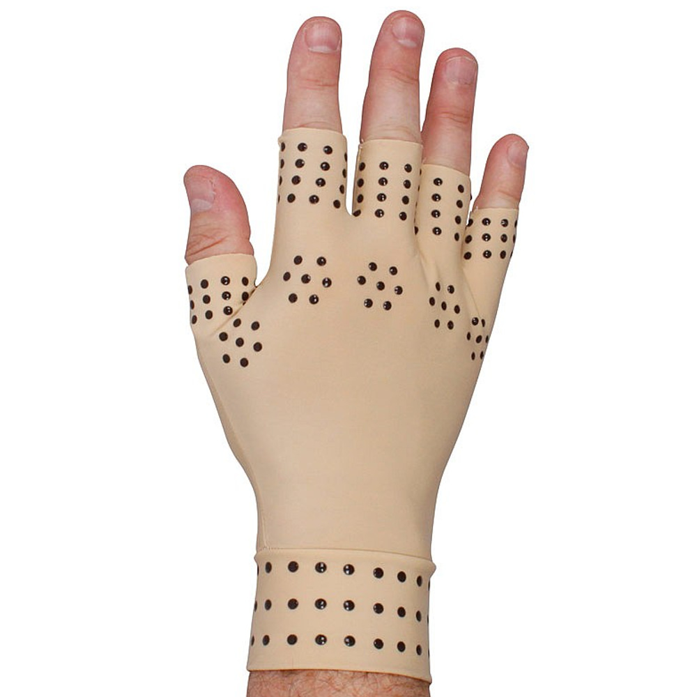 Women's Anti-Arthritis Therapeutic Therapy Fingerless Compression Magnetic Gloves