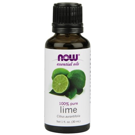 NOW Essential Oils, Lime Oil, Citrus Aromatherapy Scent, Cold Pressed, 100% Pure, Vegan,
