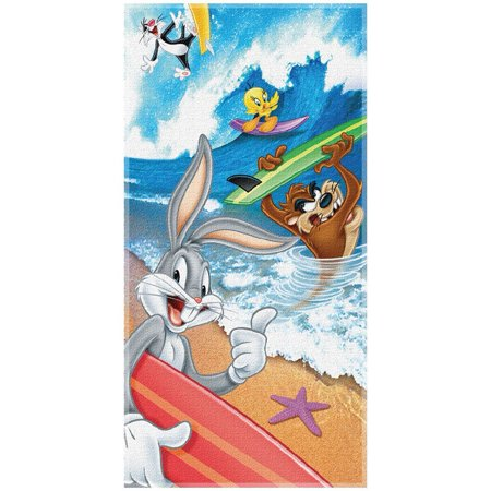Looney Tunes: Beach Towel Group Style, Crafted from 100% cotton--and that