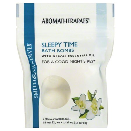Smith   Vandiver  Sleepy Time Bath Bombs with Neroli Essential Oil  4 Effervescent Bath Balls  0 8 oz  22 g  (Effervescence Bath)