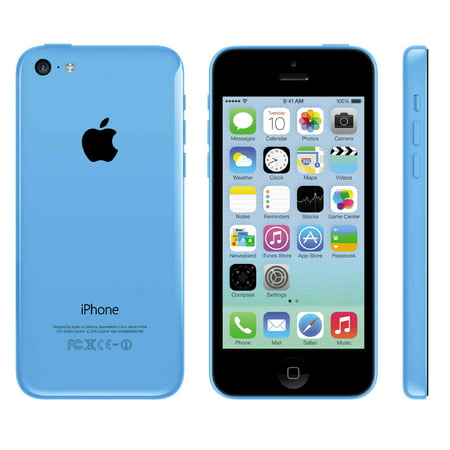 Apple iPhone 5c 16GB Factory Unlocked GSM Cell Phone - Blue (Best Cellular Phones)