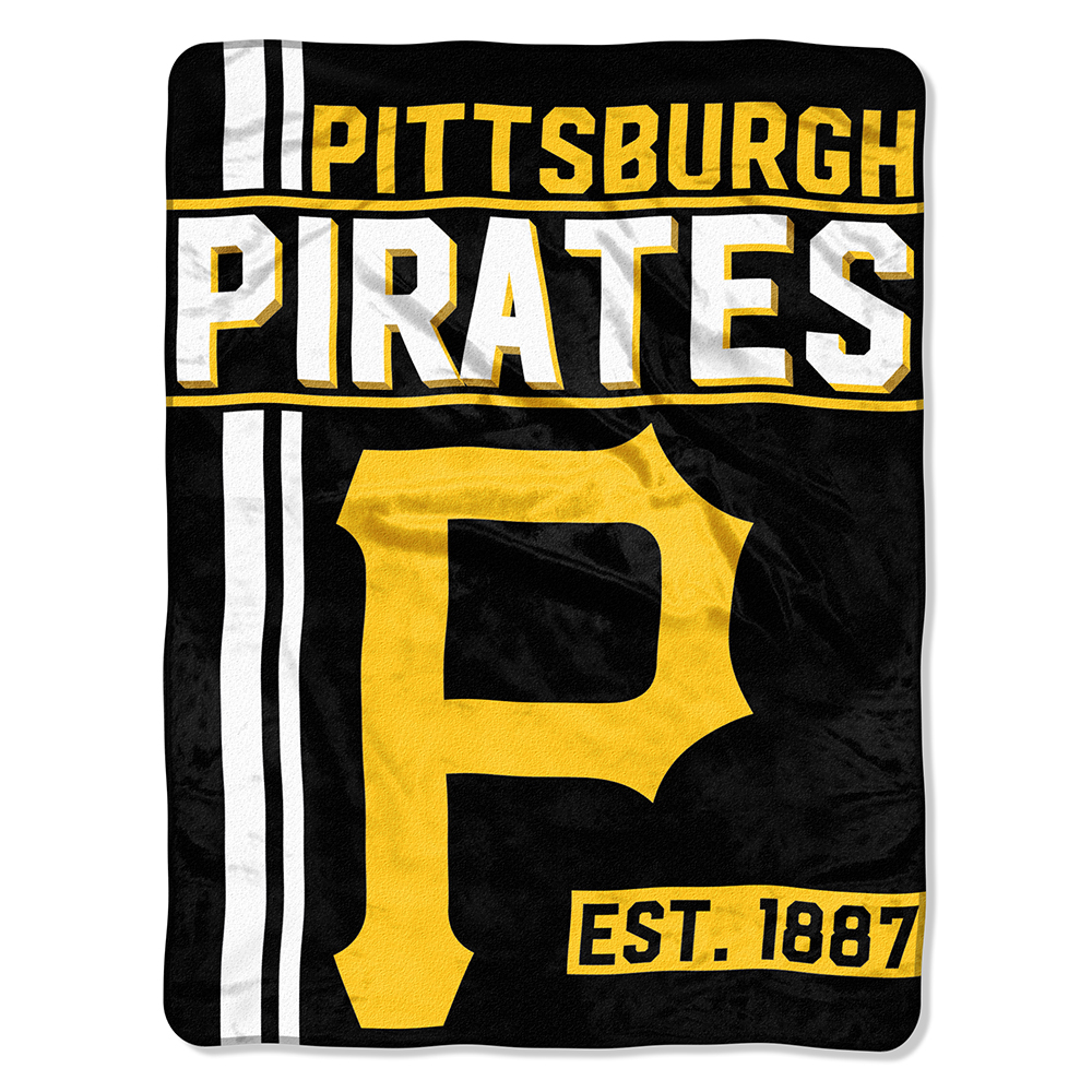 "MLB Pittsburgh Pirates ""Walk Off"" 46""x 60"" Micro Raschel Throw"